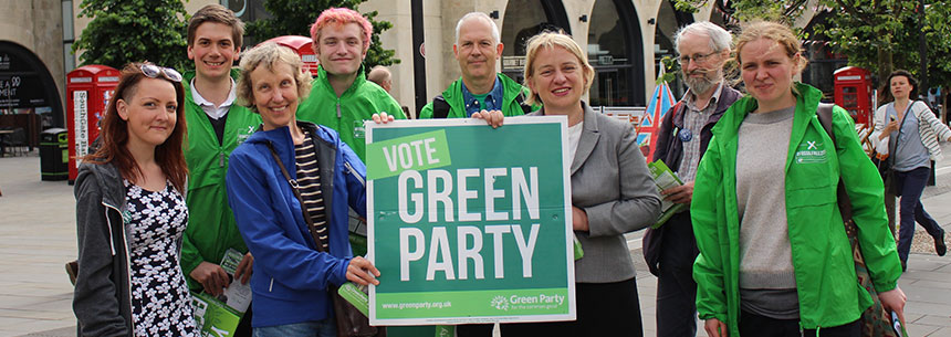 Vote Green Bath